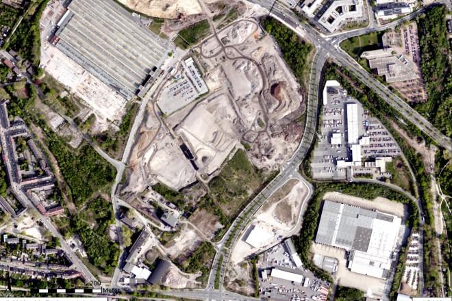 Foto: Luftbild Planbereich Essen 51