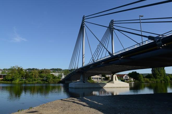 Die neue Kampmannbrücke
