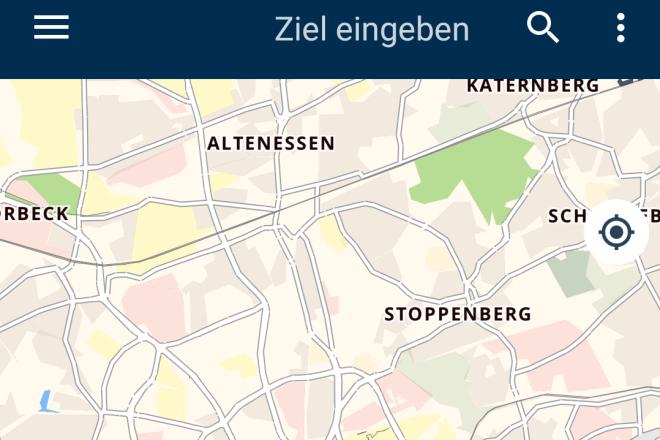 Screenshot Bike Citizens App