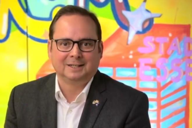 Videobotschaft von Oberbürgermeister Thomas Kufen für Essener Kinder.