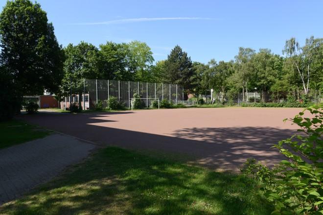 Schulsportaußenanlage des Helmholtz-Gymnasiums