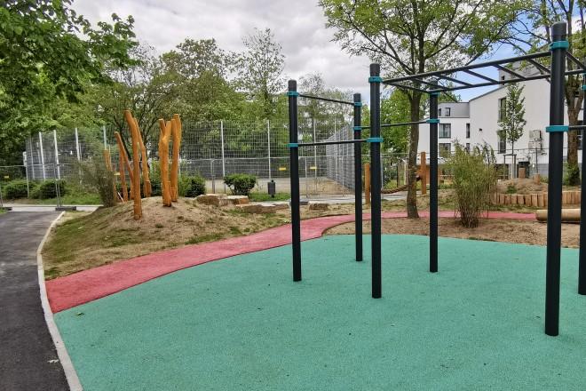 Der Spielplatz Eskenshof wurde umgestaltet. Foto: Stadt Essen