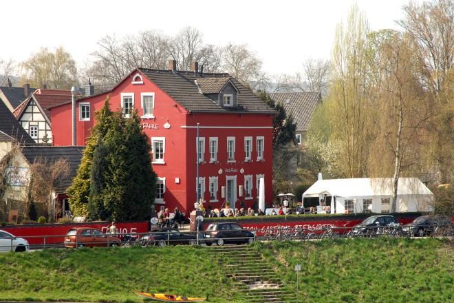 Foto: Außengastronomie in Kettwig