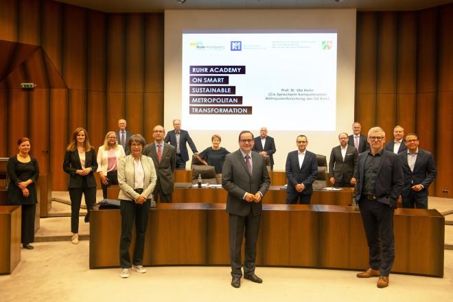 Begrüßung Ruhr Academy on Smart Metropolitan Transformation