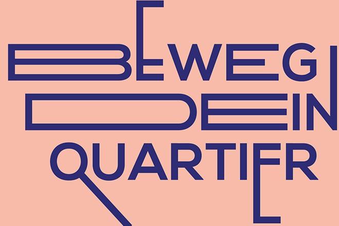 "Logo: Projekt ""Beweg Dein Quartier"""