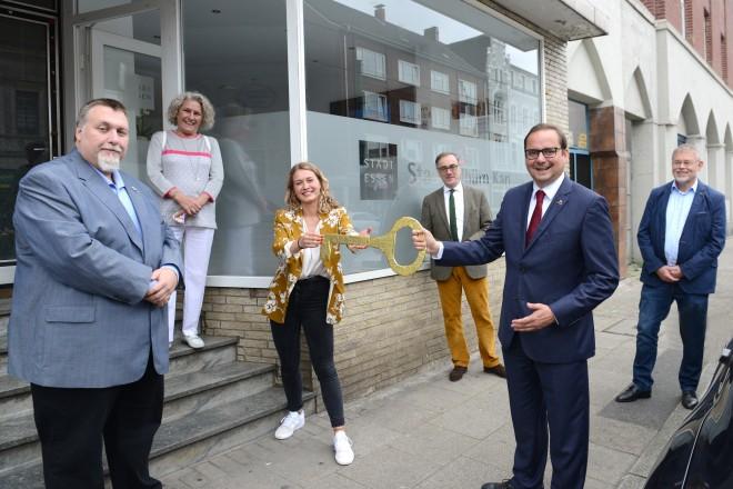 Eröffnung des Stadtteilbüros in Essen- Karnap