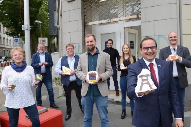 Eröffnung des Stadtteilbüros in Essen- Kray