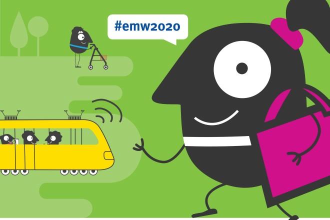 Abbildung: Plakat zur Europäischen Mobilitätswoche 2020