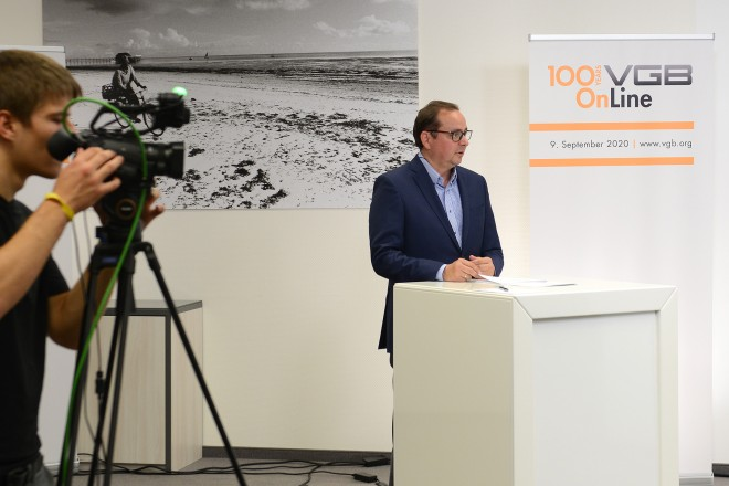 Foto: Oberbürgermeister Thomas Kufen sprach beim 100-jährigen Jubiläum des VGB PowerTech e.V.