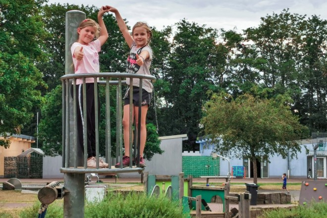 Foto: In den Herbstferien findet im Bürgerpark wieder die beliebte Betreuung der Jugendhilfe Essen statt.