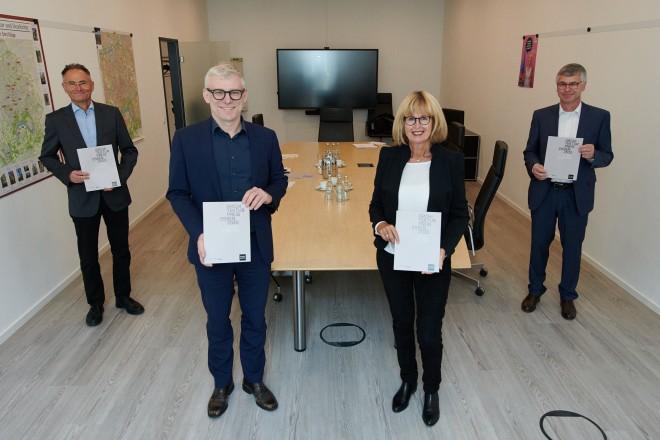 Stadt Essen und der Bund Deutscher Architekten Essen loben erstmals den Architekturpreis Essen 2020 aus.
