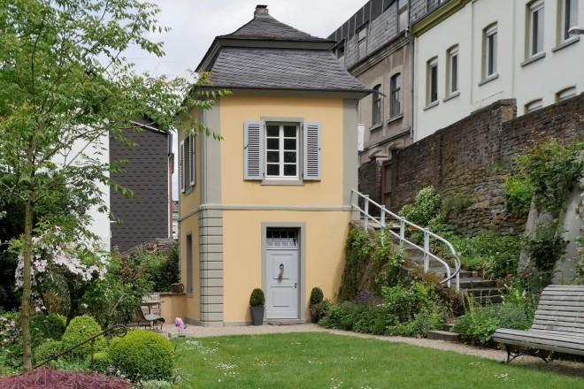 Foto: Das Historische Gartenhaus Dingerkus aus Essen-Werden wurde mit dem ersten Preis ausgezeichnet.