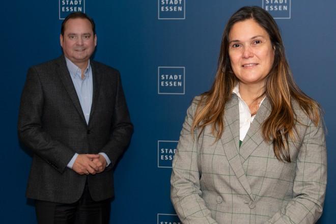 Antrittsbesuch der portugiesischen Generalkonsulin Lidia Nabais.