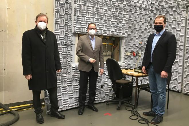 Oberbürgermeister Thomas Kufen zu Besuch beim Gas- und Wärme-Institut Essen e.V.