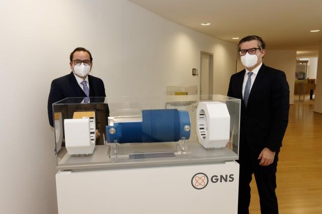 Oberbürgermeister Thomas Kufen zu Gast bei der GNS mbh.