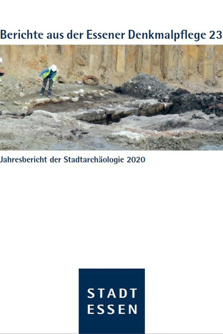 Titelbild des 23. Bands der Berichte aus der Essener Denkmalpflege