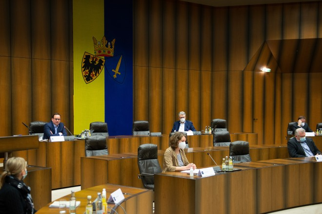"""3. Hintergrundgespräch Innenstadt z.T. """"Sicherheit"""""""