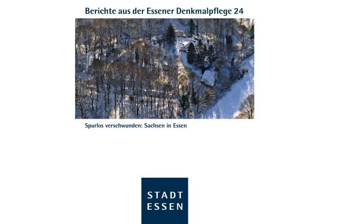 Titelbild des 24. Bands der Berichte der Essener Denkmalpflege
