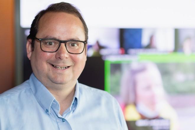 Foto: Oberbürgermeister Thomas Kufen lächelt in die Kamera