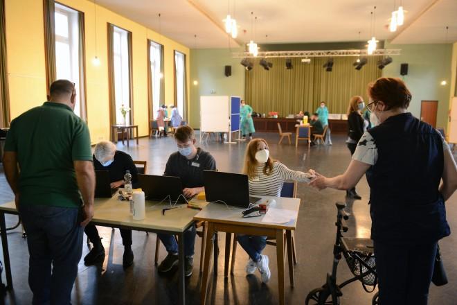 Foto: Impfaktion im KD 11/13 Zentrum für Kooperation und Inklusion im Stadtteil Altenessen
