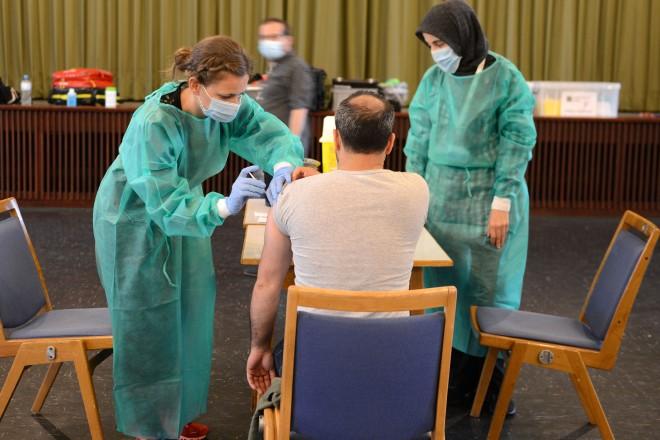 Impfaktion im Stadtteil Altenessen