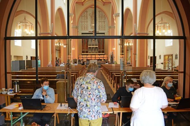 Dezentrales Impfen in Altendorf in der kath. Kirchengemeinde St. Mariä Himmelfahrt