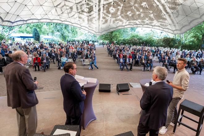 Veranstaltung im Grugapark anlässlich des 100-jährigen Bestehens des ESPO.