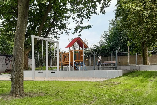 Foto: Spielplatz Lehrstraße