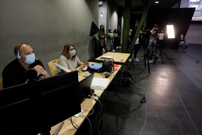 Foto: Das Jugendamt hatte ein digitales Speeddebating organisiert