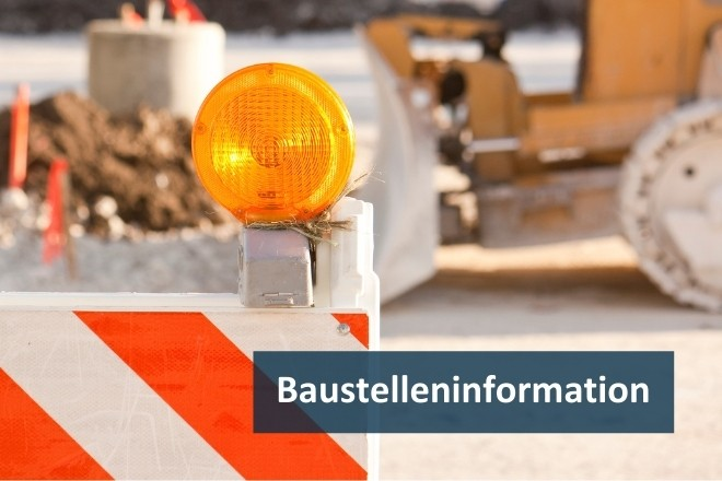 Grafik: Baustelleninformation / Stockfoto