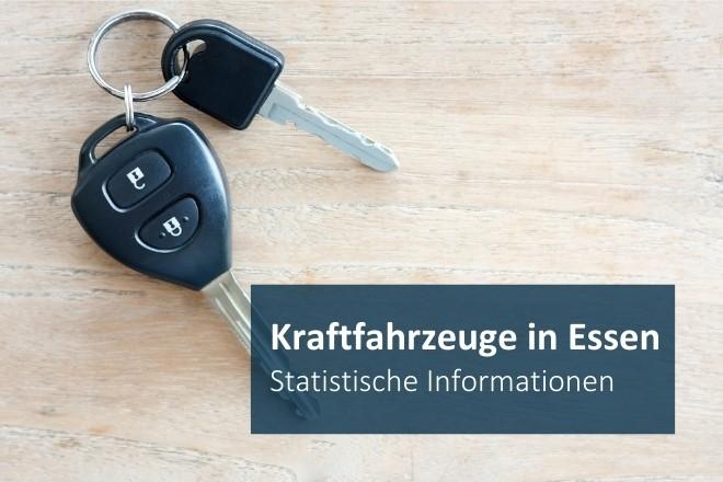 Grafik: Kraftfahrzeuge in Essen: statistische Informationen