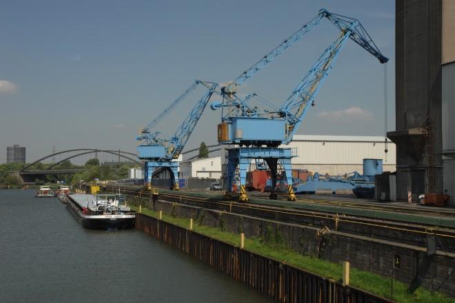 Im Stadthafen