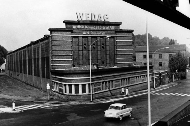 Dinnendahl Werkhalle an der Westfalenstr. 1955 - 1965