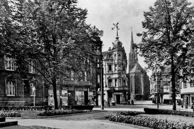 Germania Platz in Essen Borbeck vor 1923