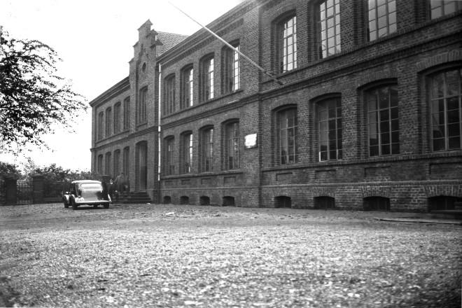 Berufsschule an der Dachstraße, Borbeck, 13.10.1936