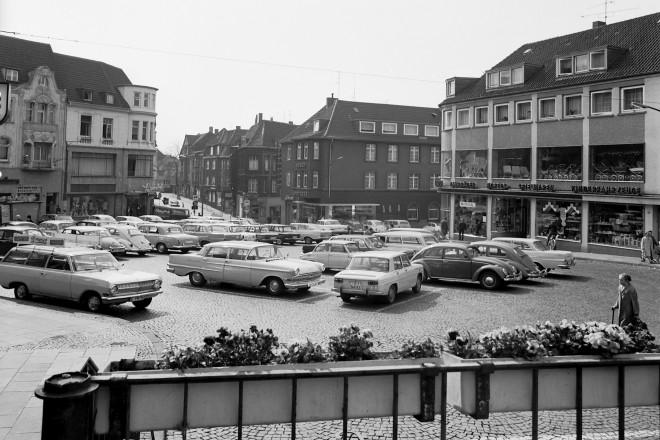 Alter Marktplatz in Borbeck