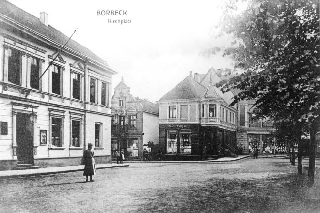 Borbeck- Kirchplatz