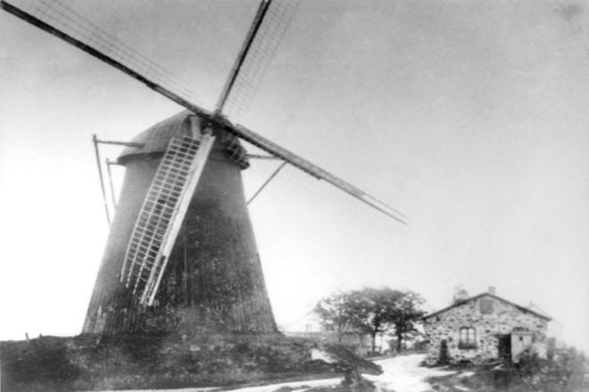 Foto: Mühle in Altendorf (Burgaltendorf) um 1910