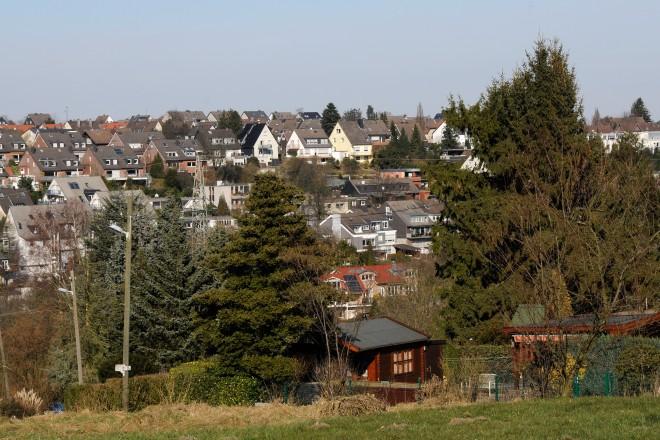 Blick von der Endemannhöhe auf Burgaltendorf
