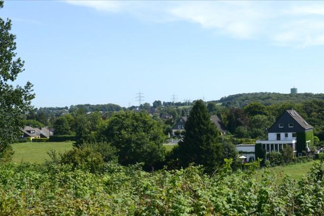Blick vom Nöckersberg auf die Nöckersleite