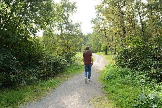 Spaziergang im Gleispark