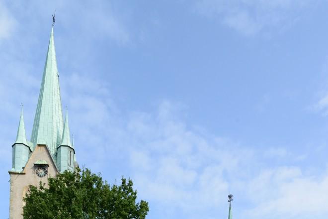 Kirche St.Michael mit Seilscheibe