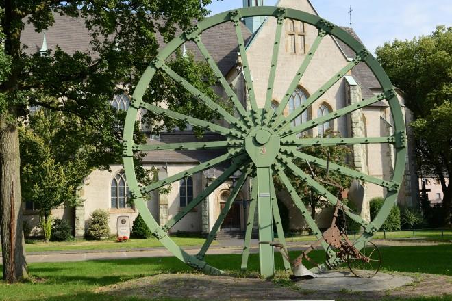 Seilscheibe an der St.Michaelkirche