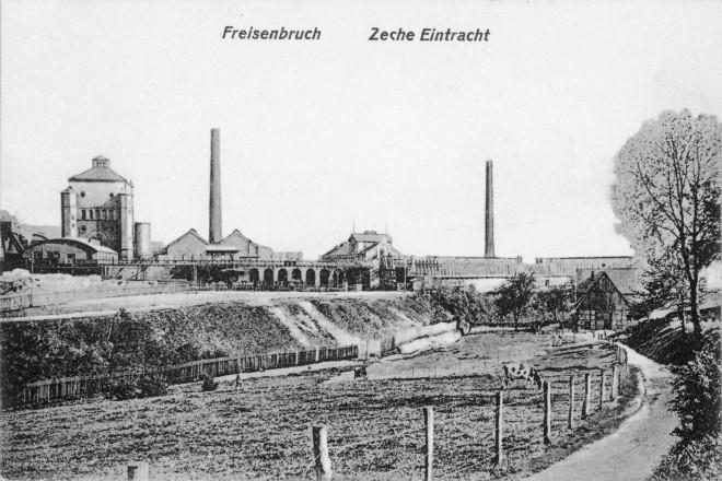Zeche EIntracht um 1910