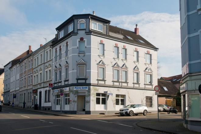 Frillendorf - Elisabethstraße Ecke Auf'm Böntchen