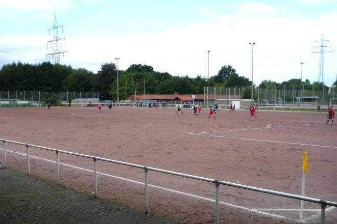 Sportplatz Schemmannsfeld in Essen-Frintrop.
