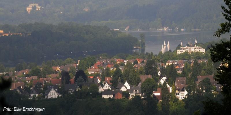 Foto: Blick über Heisingen