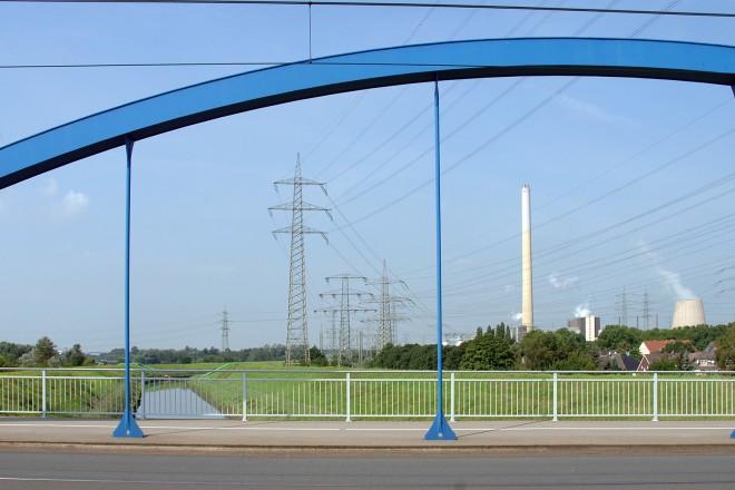 Auf der Zweigertbrücke 2008