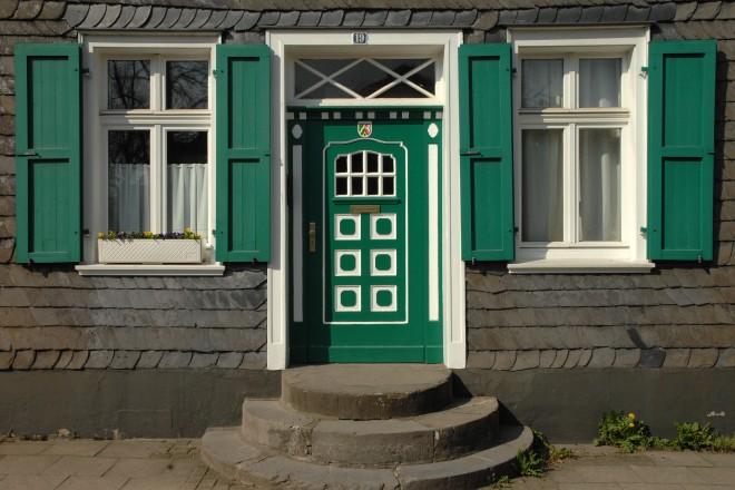 Hauseingang in Kettwig