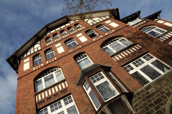 Gebäude der Weberei Colsmann